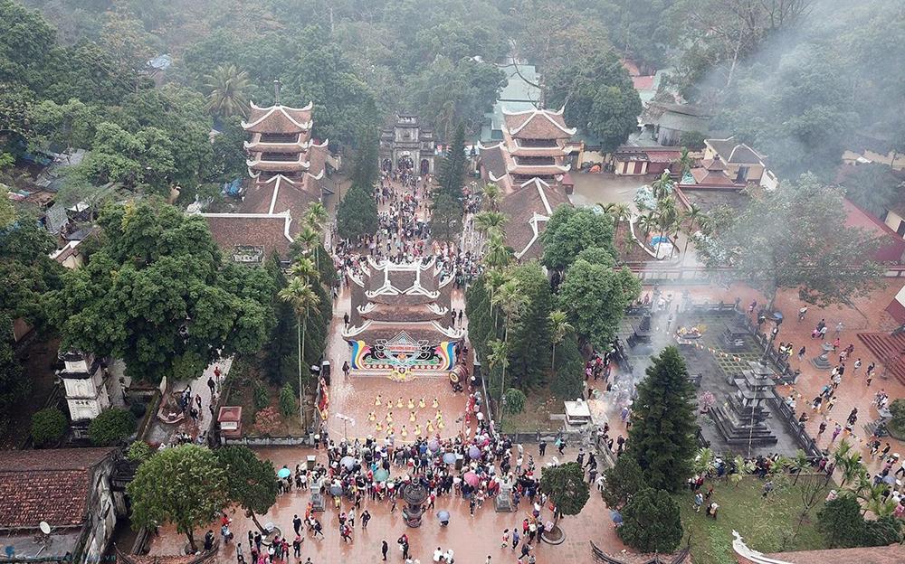 Chùa Hương Hà Nội - ngao du thế giới