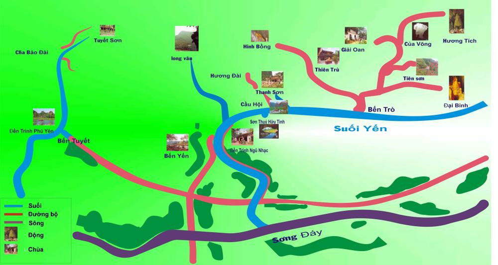Khu di tích Chùa Hương Hạ Nội - ngao du thế giới