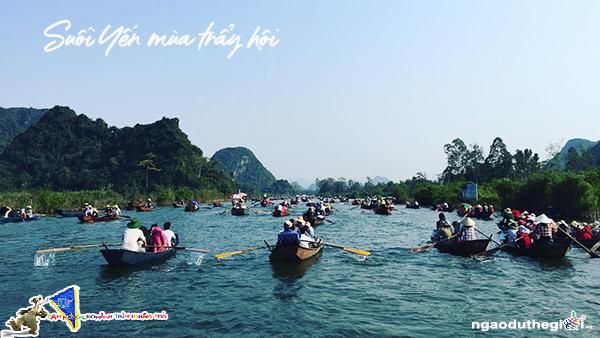 Suối Yến chùa Hương mùa trảy hội