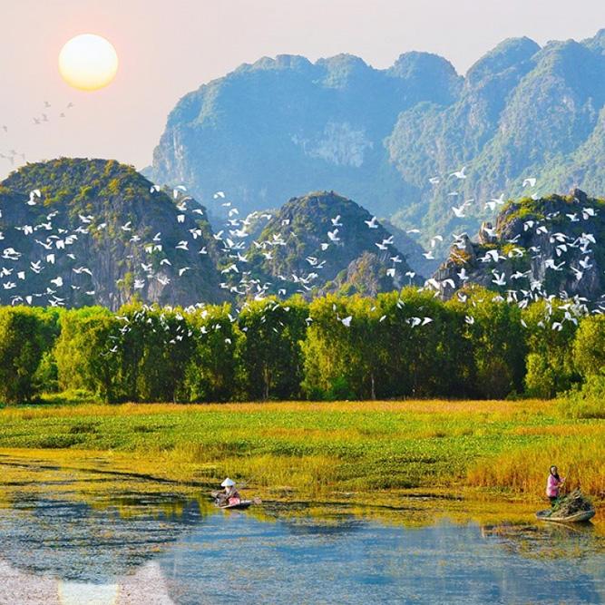 Chùa Hương - Vân Long 1 ngày