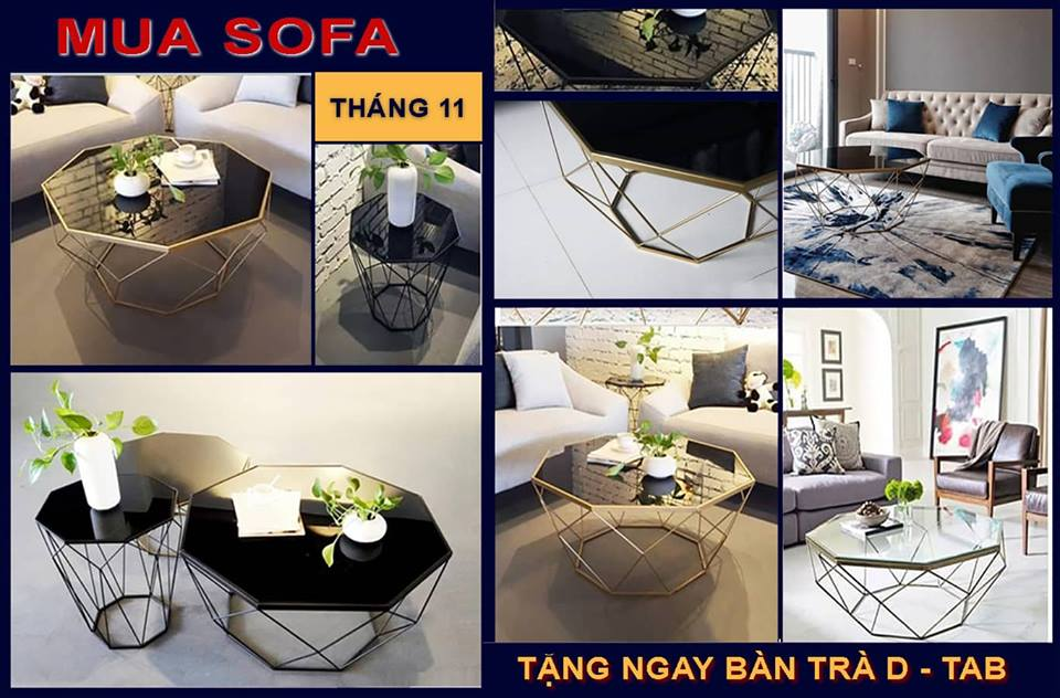 Mua sofa tặng bàn trà DTab