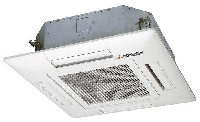 Điều Hòa Âm Trần Cassette Mitsubishi Inverter 2 Chiều 42.000BTU FDT125VG/FDC125VN
