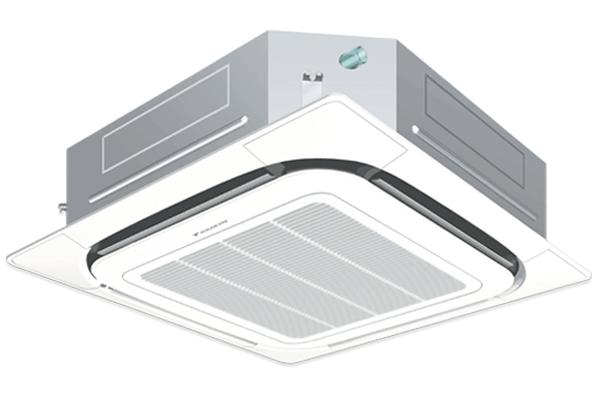 Điều Hòa Âm Trần Cassette Daikin Inverter 2 Chiều 17.100Btu FCQ50KAVEA/RZQS50AV1