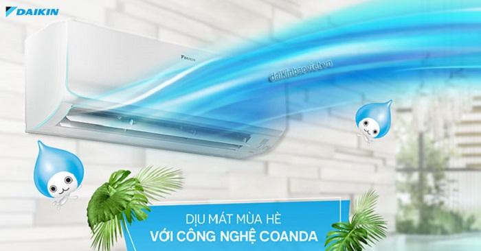 Điều Hòa Daikin Inverter 1 Chiều 12000btu FTKS/RKS35GVMV