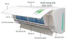 Điều hòa Panasonic 1 chiều 9000BTU CU/CS-N9WKH-8