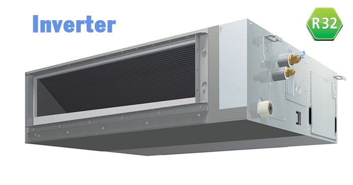 Điều Hòa Âm Trần Nối Ống Gió Daikin Inverter 1 Chiều 24.200Btu FBFC71DVM/RZFC71DY1