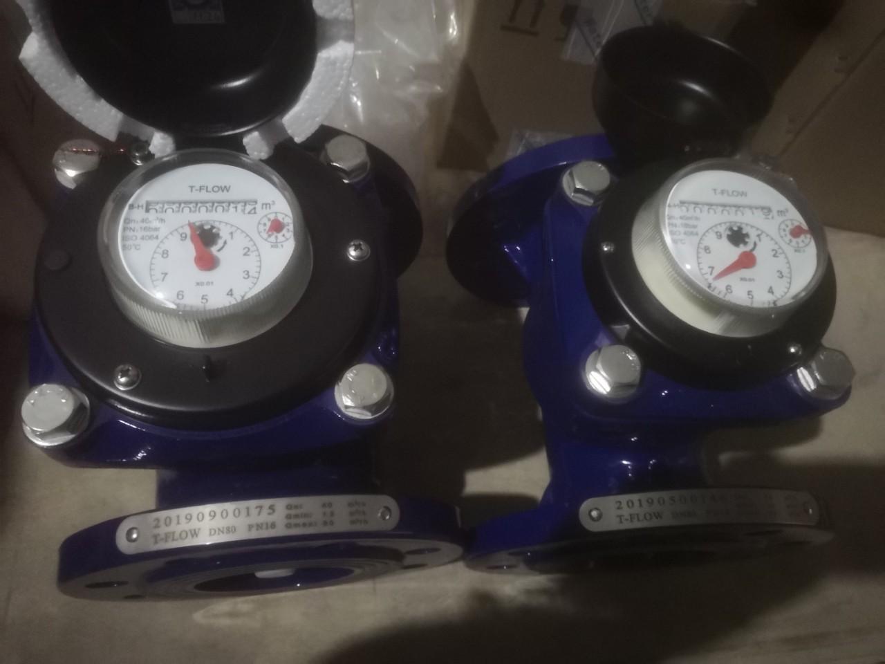 Đồng hồ đo lưu lượng nước T-Flow DN80