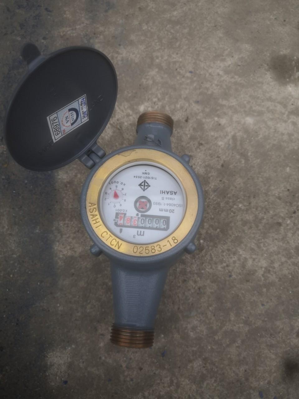 Đồng hồ nước Asahi DN15 (1/2