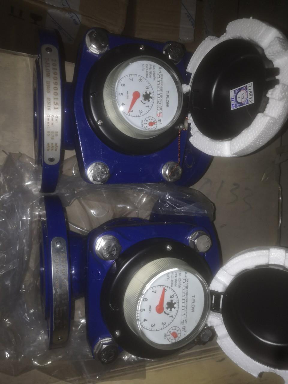 Đồng hồ đo lưu lượng nước T-Flow DN100