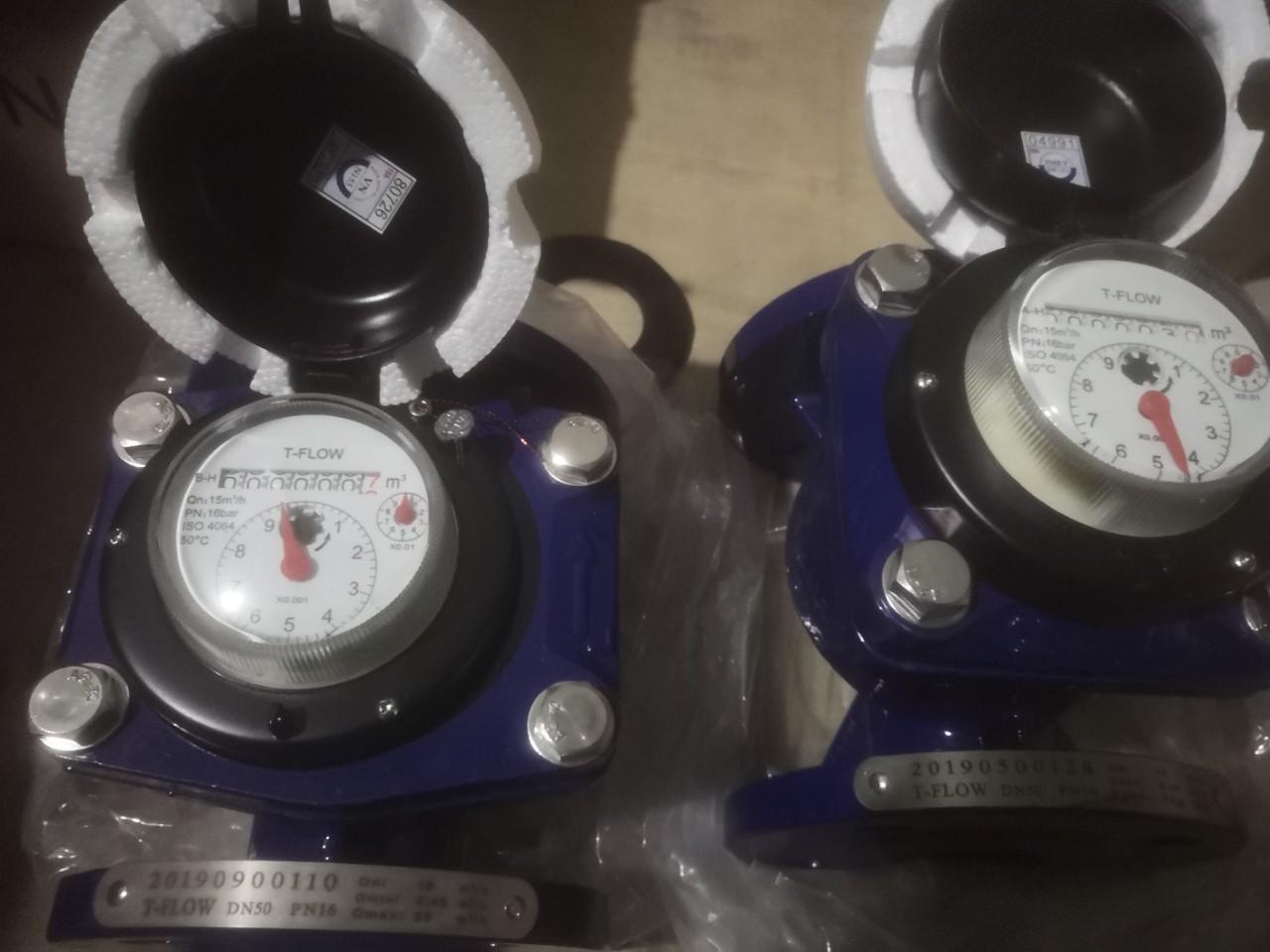 Đồng hồ đo lưu lượng nước T-Flow DN50