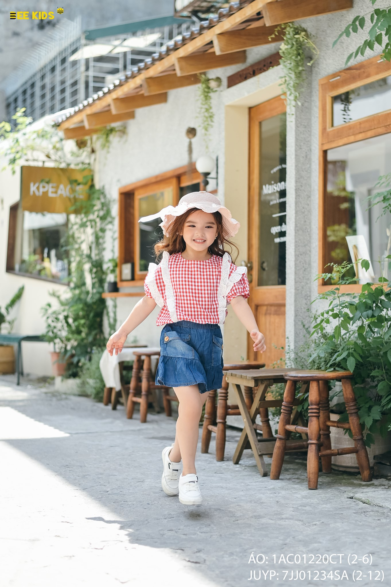 Áo thô bé gái size 2-6 tuổi