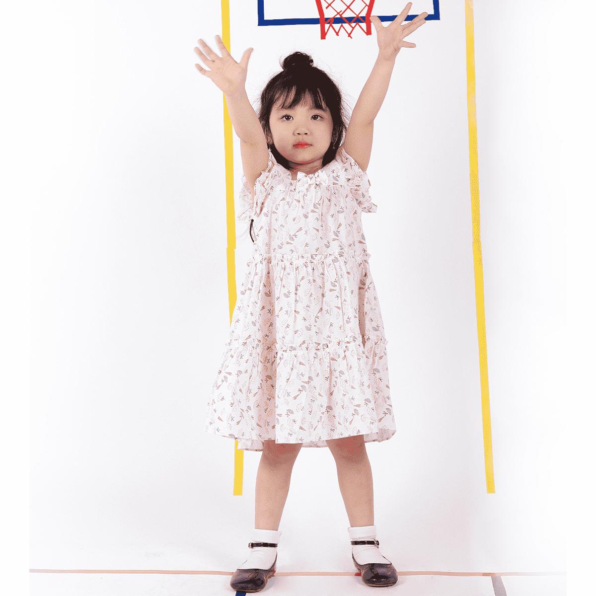 Váy thô bé gái từ 3 đến 6 tuổi