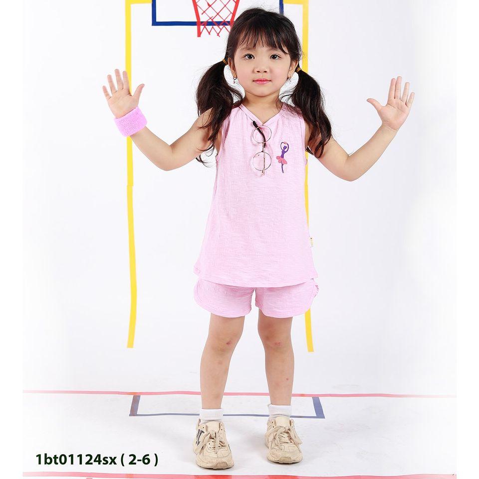 Bộ sát nách bé gái 2-6 tuổi