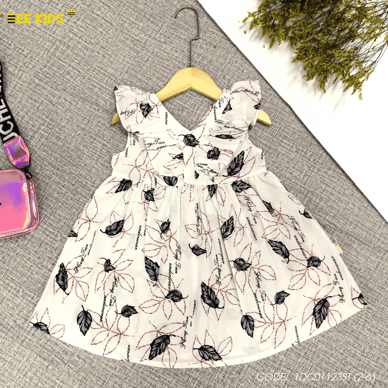 Váy thô bé gái từ 2 đến 6 tuổi