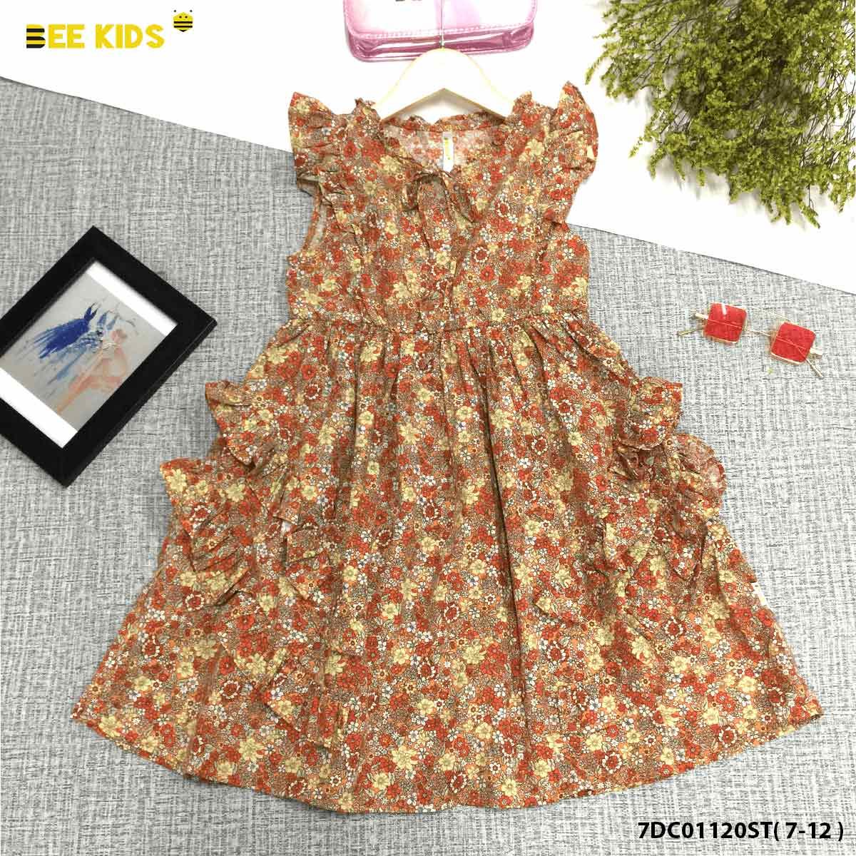 Váy thô bé gái từ 7 đến 12 tuổi
