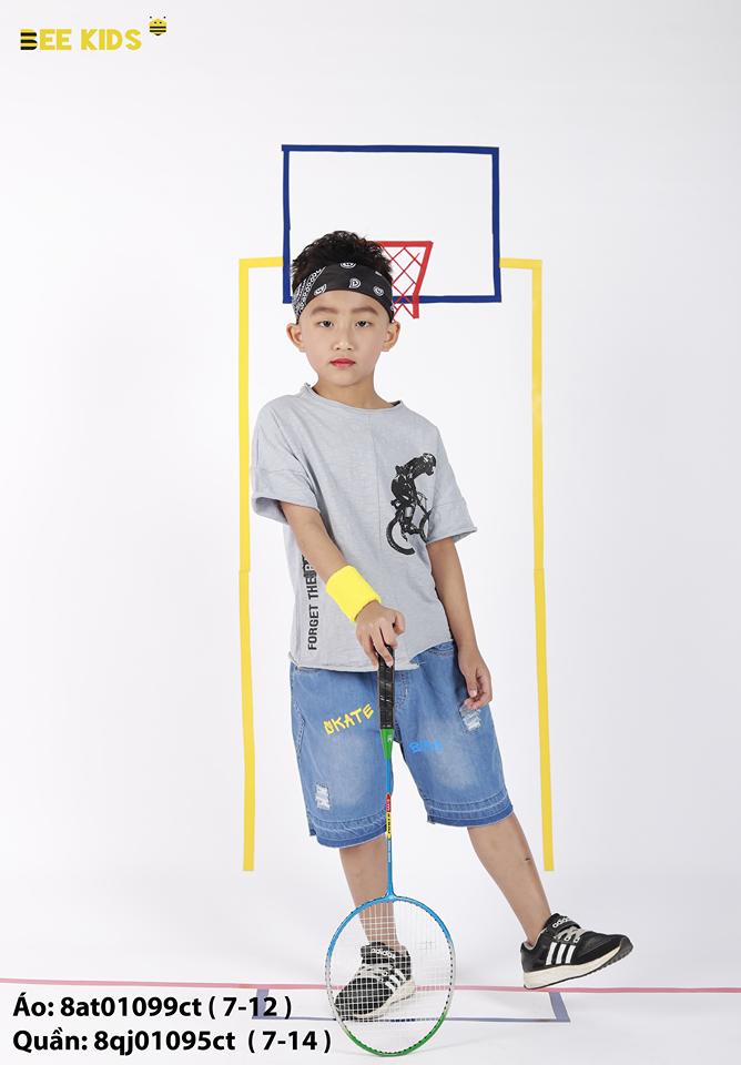 Áo phông bé trai từ 7 đến 12 tuổi