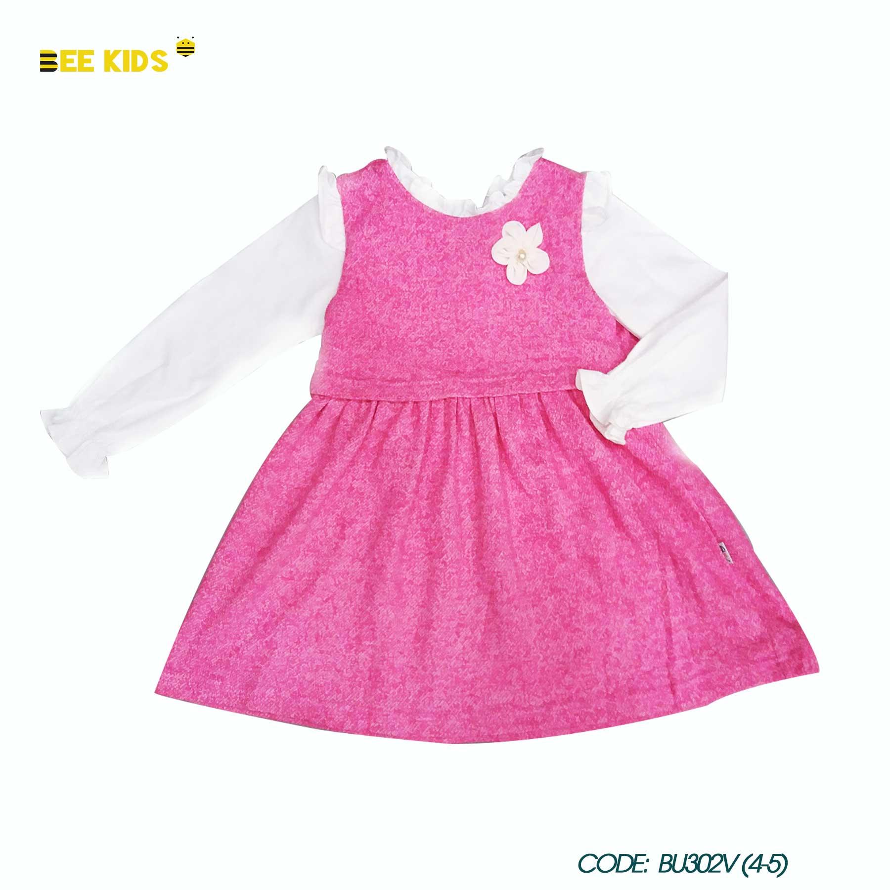 Váy thun bé gái từ 2 đến 10 tuổi