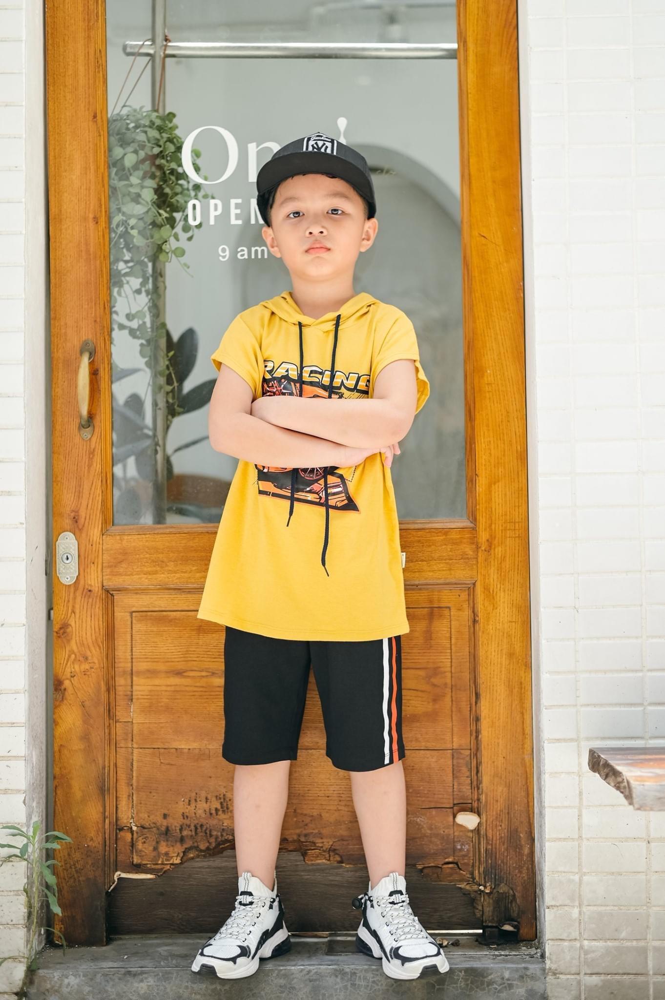 Bộ thun bé trai size 7-14 tuổi
