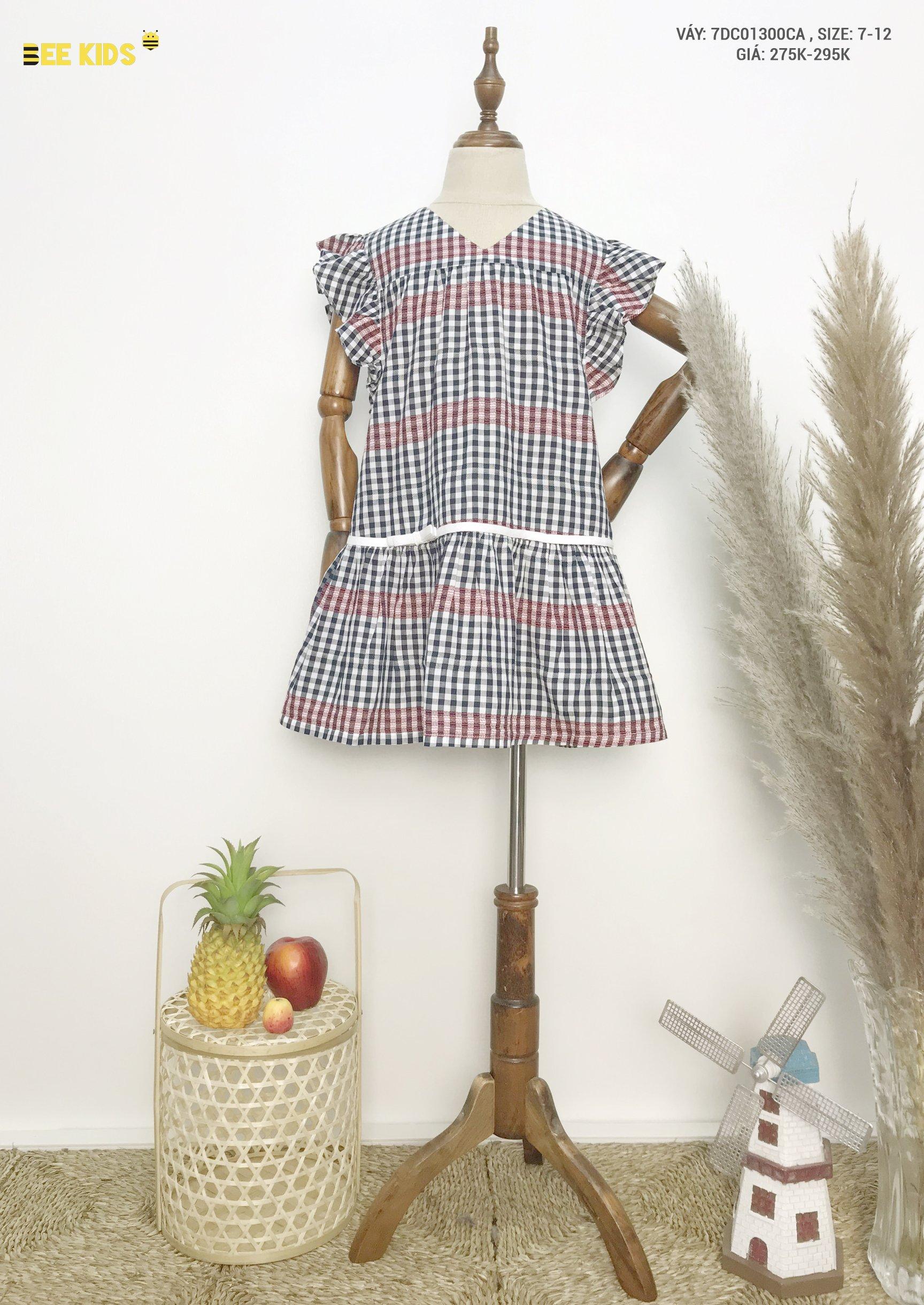 Váy thô bé gái 7-12 tuổi