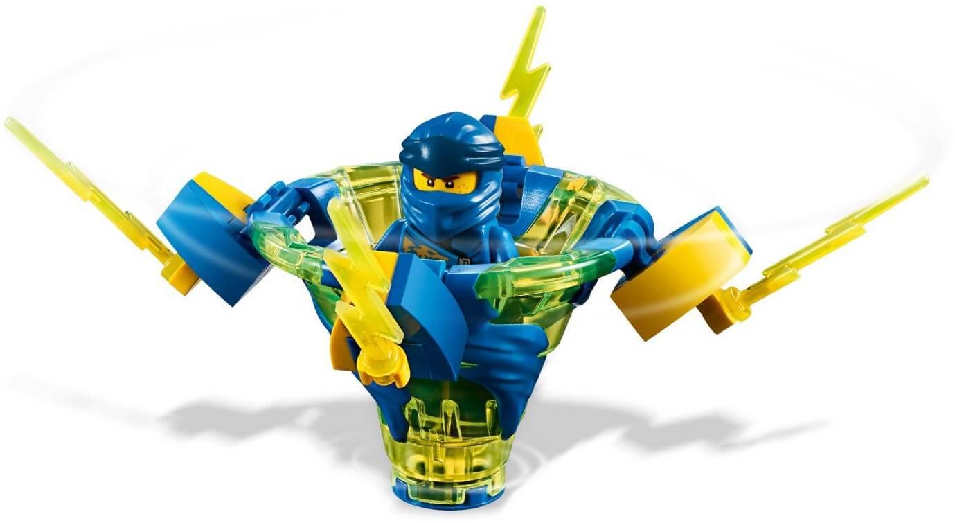 Đồ chơi lắp ráp LEGO Ninjago 70660 - Bông Dụ Lốc Xoáy của Jay (LEGO 70660  Spinjitzu Jay)