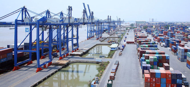 HCM City Inaugurated 'Terminal Extension' Of Cat Lai Port , VietNam.
