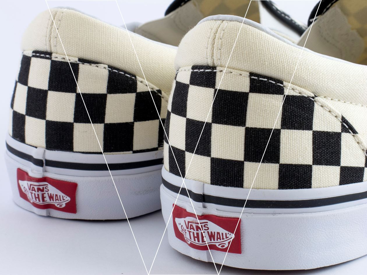 vans slip on checkerboard chính hãng