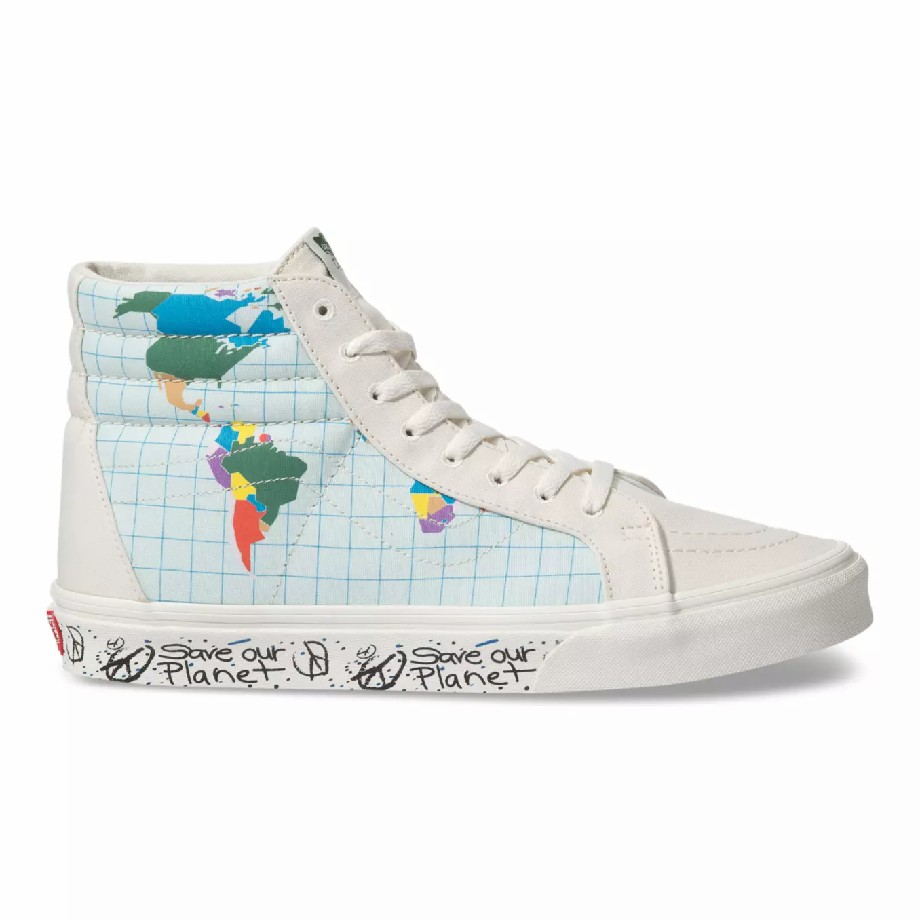 VANS Việt Nam - SAVE OUR PLANET X VANS SK8-HI REISSUE MULTI VN0A4BV8T2V