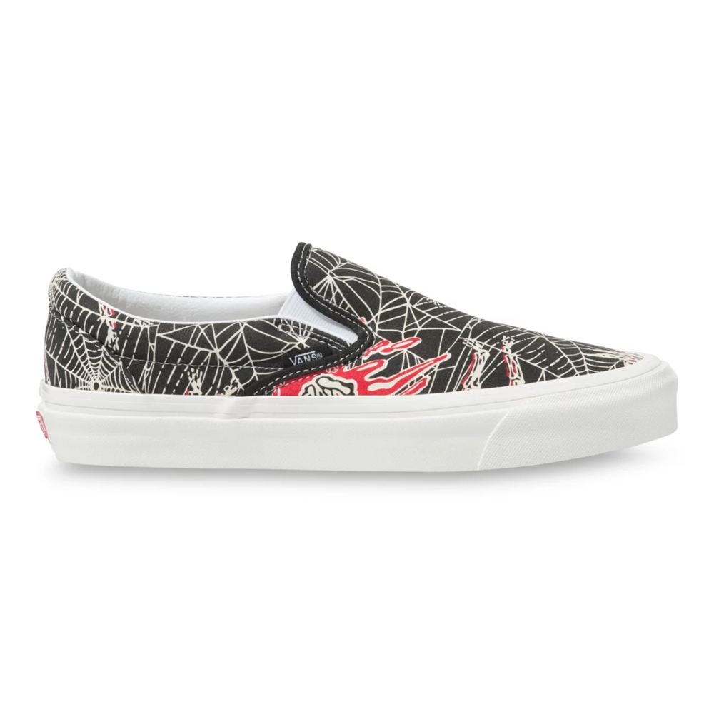 VANS ANAHEIM FACTORY 98 DX SLIP-ON SPIDER WEB