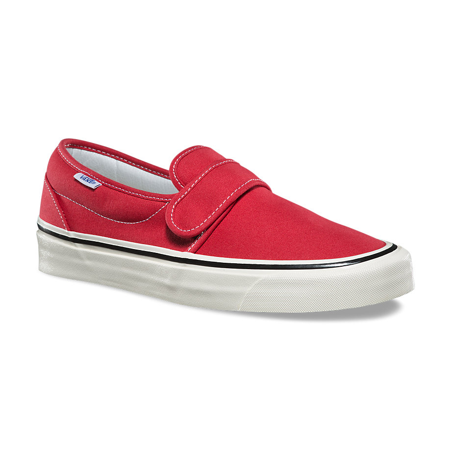 VANS Việt Nam - VANS ANAHEIM FACTORY SLIP-ON 47 V DX RED VN0A3MVAR3V