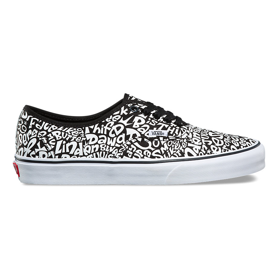 VANS ATCQ AUTHENTIC TRACKLIST/TRUE WHITE