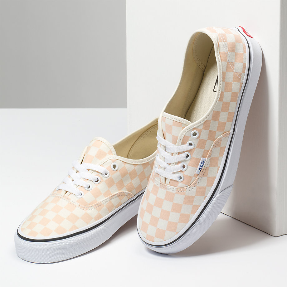 VANS Việt Nam - CHECKERBOARD APERICOT ICE CLASSIC WHITE VN0A38EMQ8K