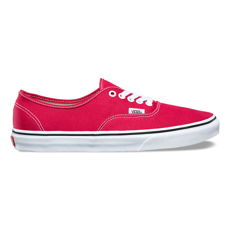 VANS AUTHENTIC CRIMSON/TRUE WHITE
