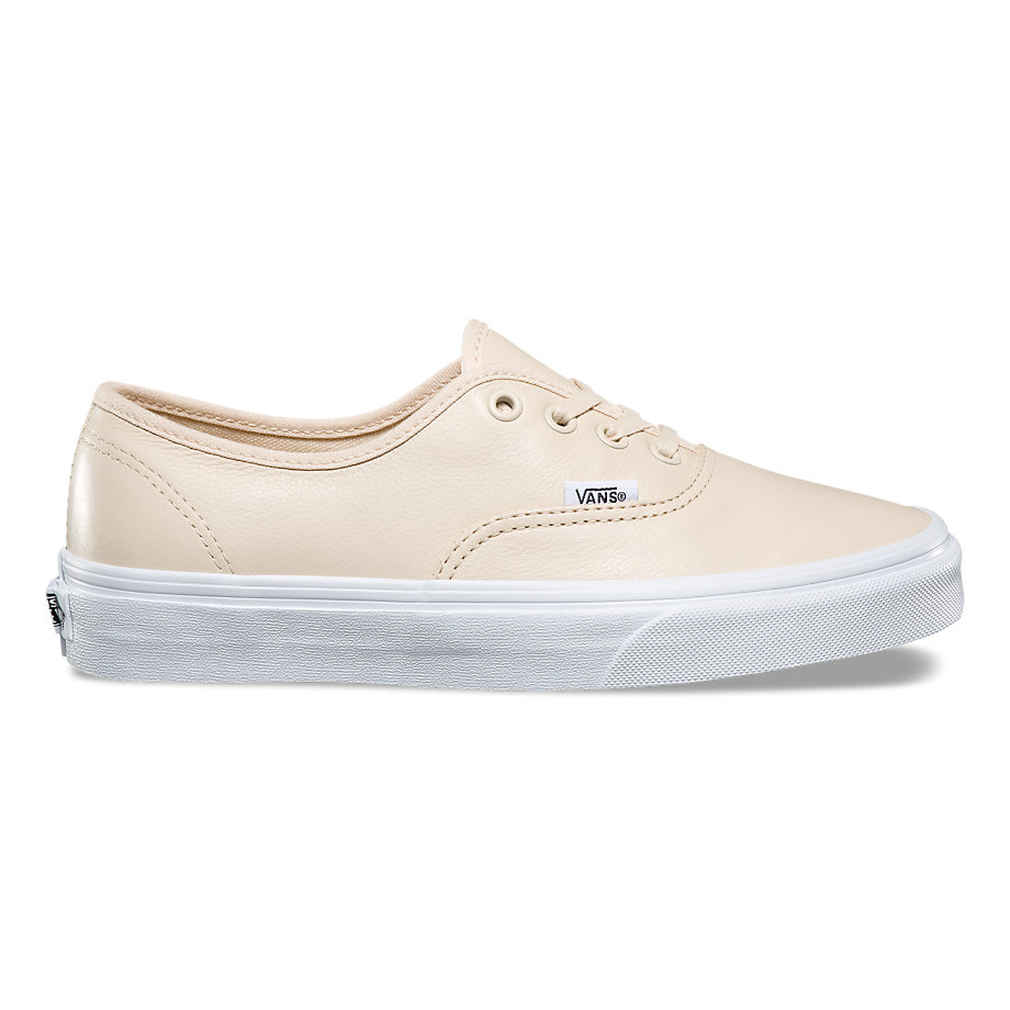 VANS AUTHENTIC LEATHER TAPIOCA TRUE WHITE