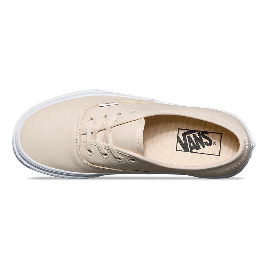 VANS Việt Nam - VANS AUTHENTIC LEATHER TAPIOCA TRUE WHITE VN0A38EMQ8W
