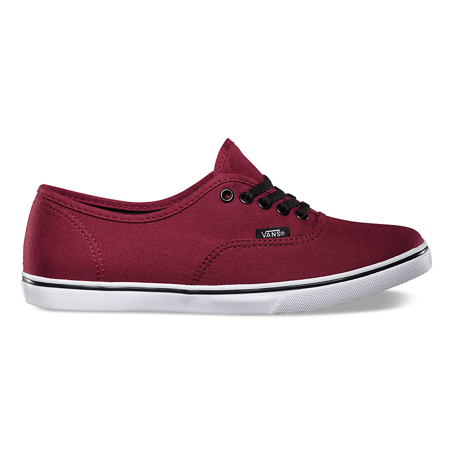 VANS AUTHENTIC LO PRO TAWNY PORT/TRUE WHITE