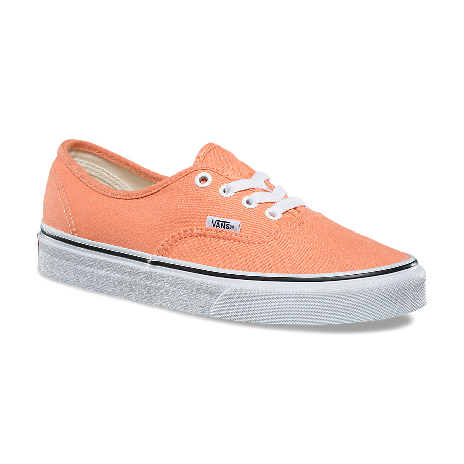VANS Việt Nam - VANS AUTHENTIC PEACH PINK/TRUE WHITE VN0A38EMQ6N