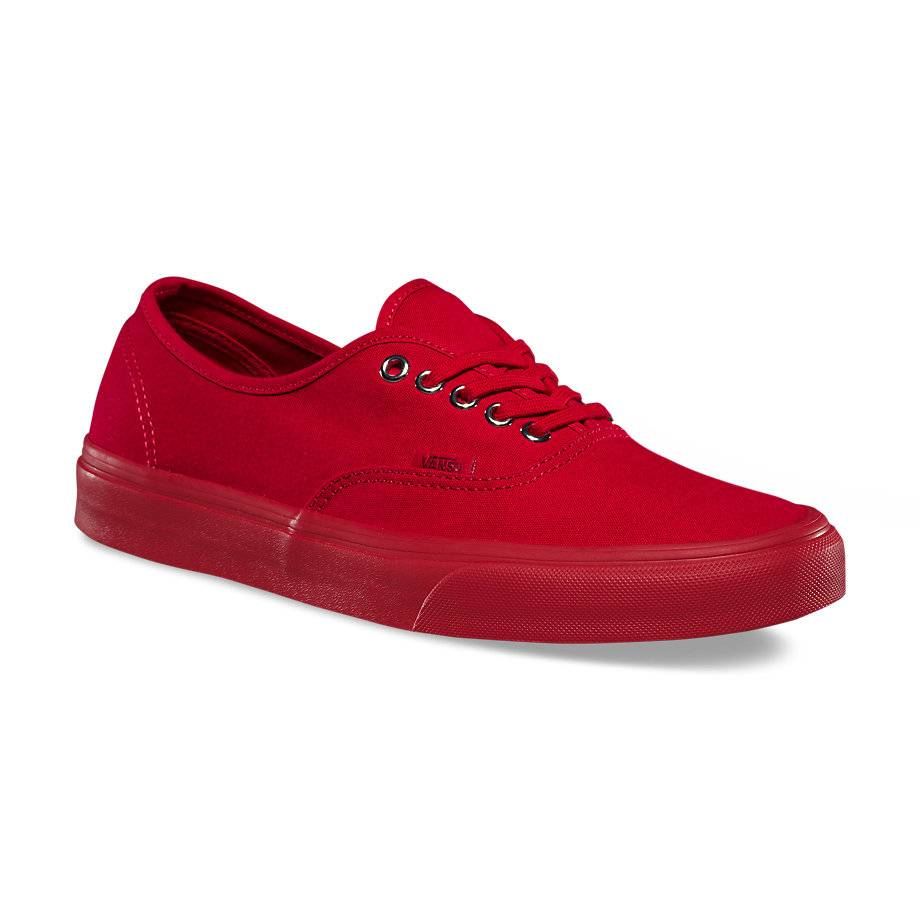 VANS Việt Nam - VANS AUTHENTIC PRIMARY MONO RED/SILVER VN0A38EMMQA