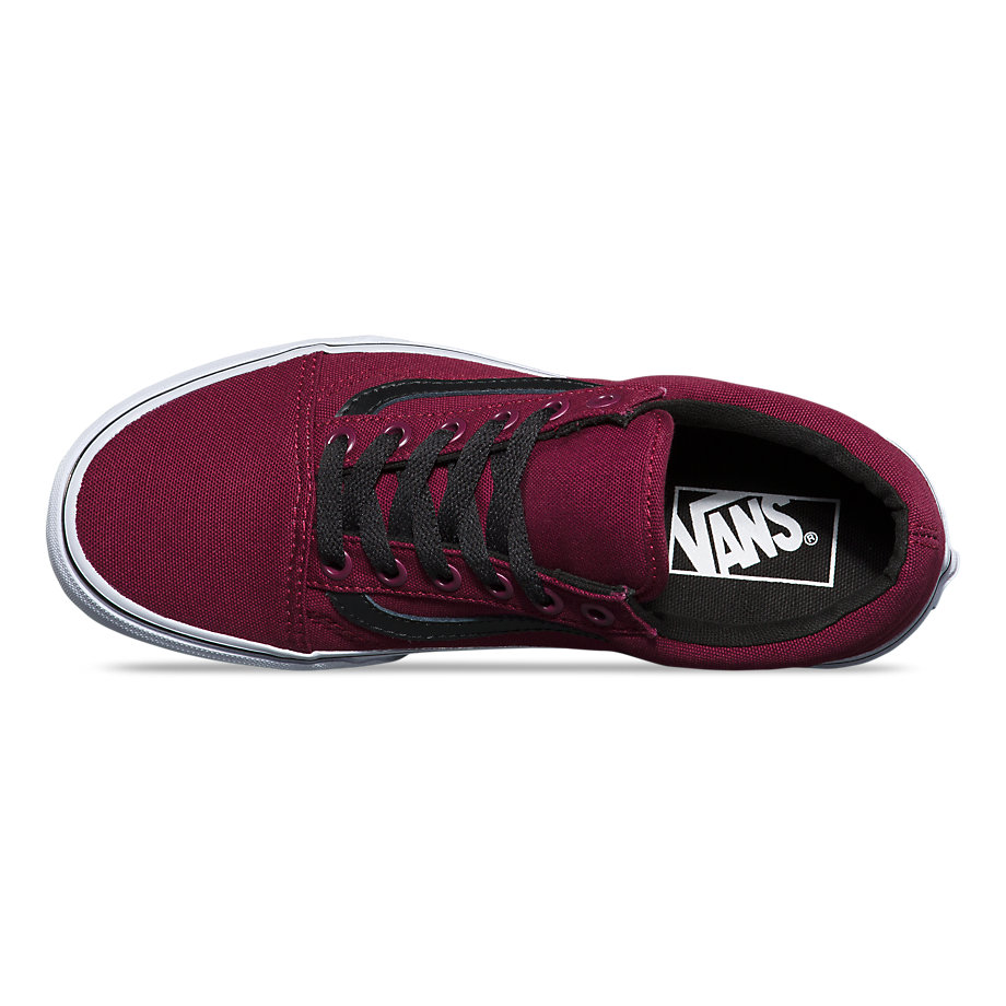 VANS Việt Nam-VANS CANVAS OLD SKOOL CLASSIC WINDSOR WINE VN0A31Z9KZL