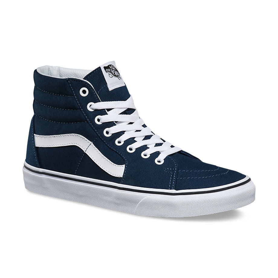 VANS Việt Nam - VANS CANVAS SK8 HI DRESS BLUES TRUE WHITE VN000TS9KO7