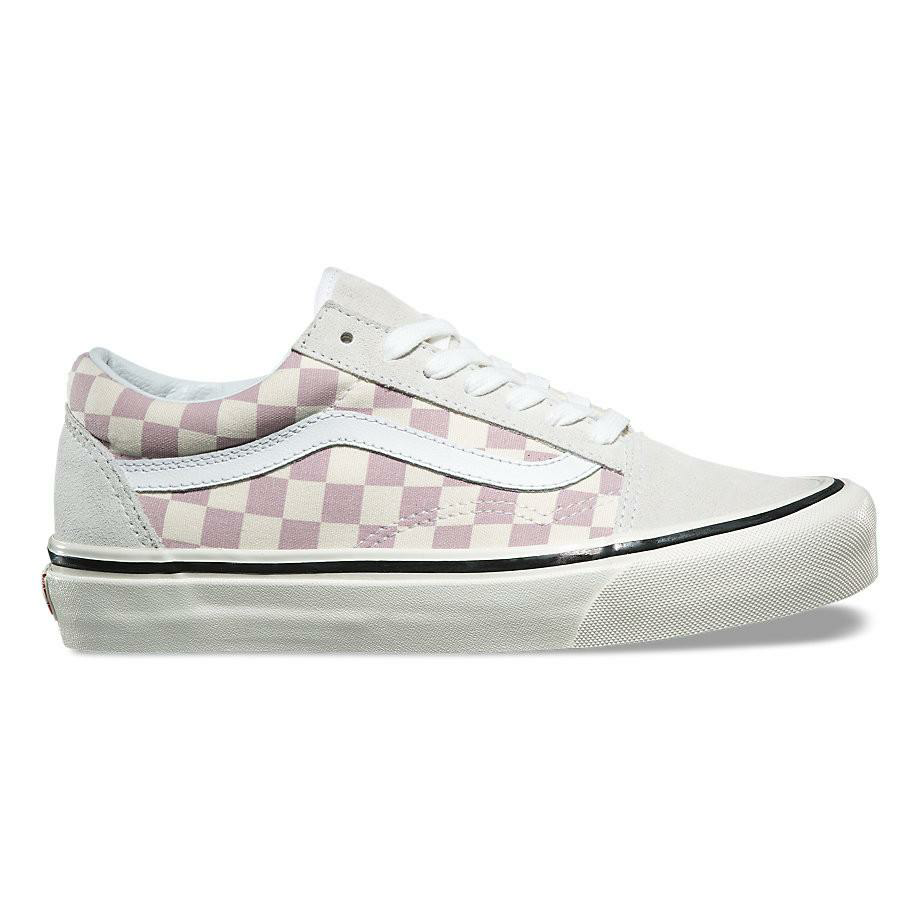 VANS CHECKERBOARD OLD SKOOL 44 DX ANAHEIM MAUVE