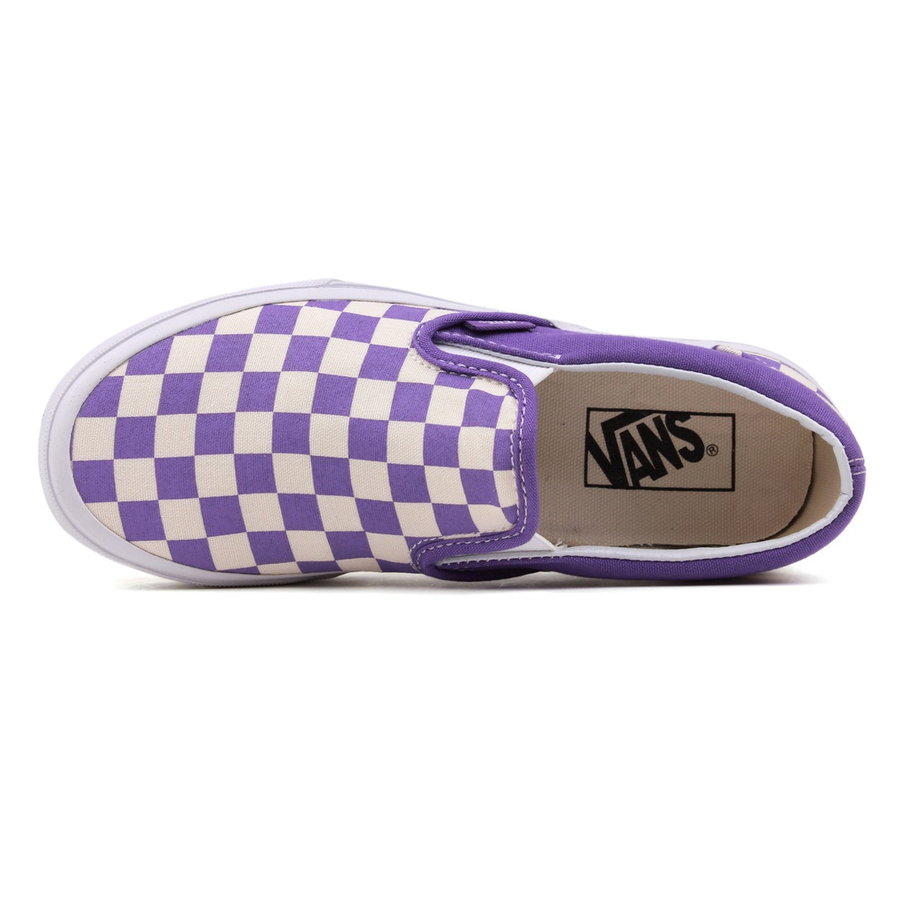 VANS Việt Nam - VANS CHECKERBOARD SLIP ON PURPLE/WHITE VN-0XG8DF3_3
