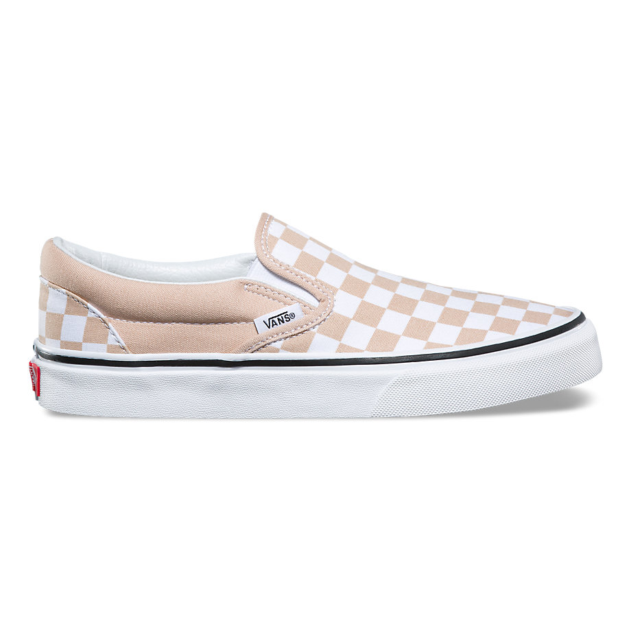 VANS Việt Nam - CHECKERBOARD SLIP-ON FRAPPE/TRUE WHITE VN0A38F7QTH