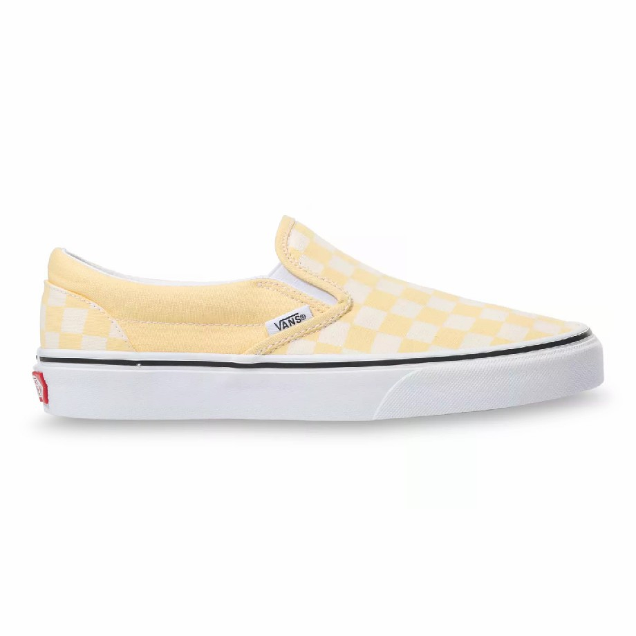 VANS Việt Nam - VANS CHECKERBOARD SLIP-ON GOLDEN HAZE VN0A4U38WRZ