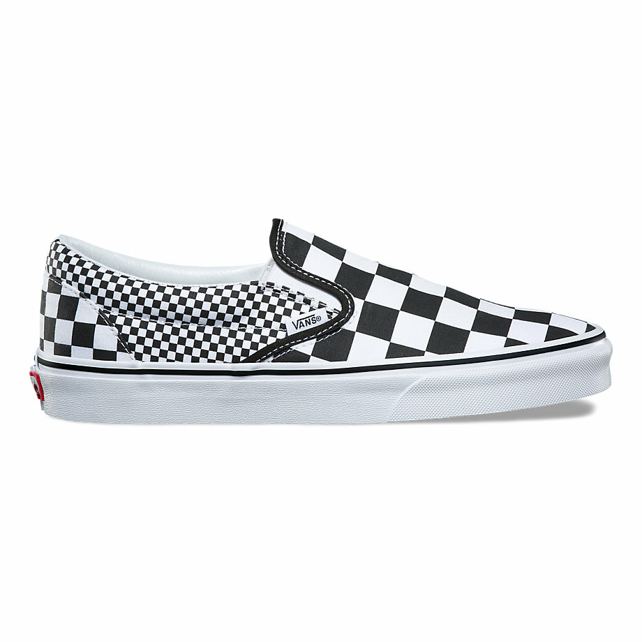 VANS CLASSIC MIX CHECKERBOARD SLIP-ON