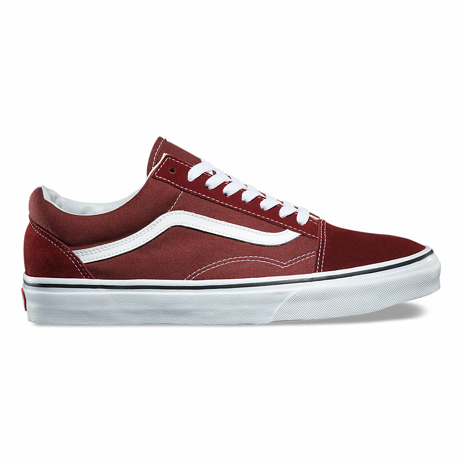 VANS CLASSIC OLD SKOOL MADDER BROWN/TRUE WHITE