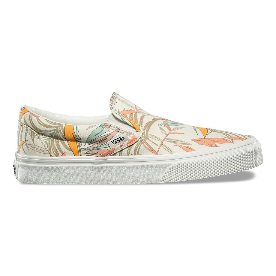 VANS CLASSIC SLIP-ON CALIFORNIA FLORAL MARSHMALLOW