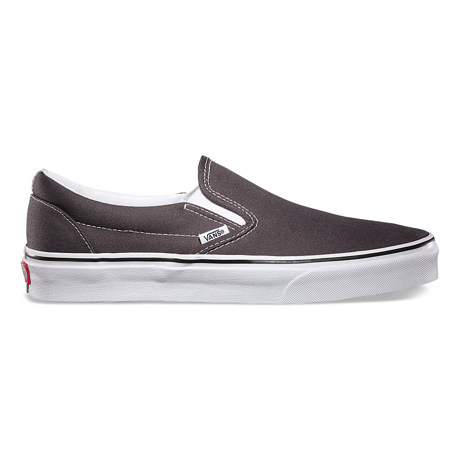 VANS CLASSIC SLIP-ON CHARCOAL