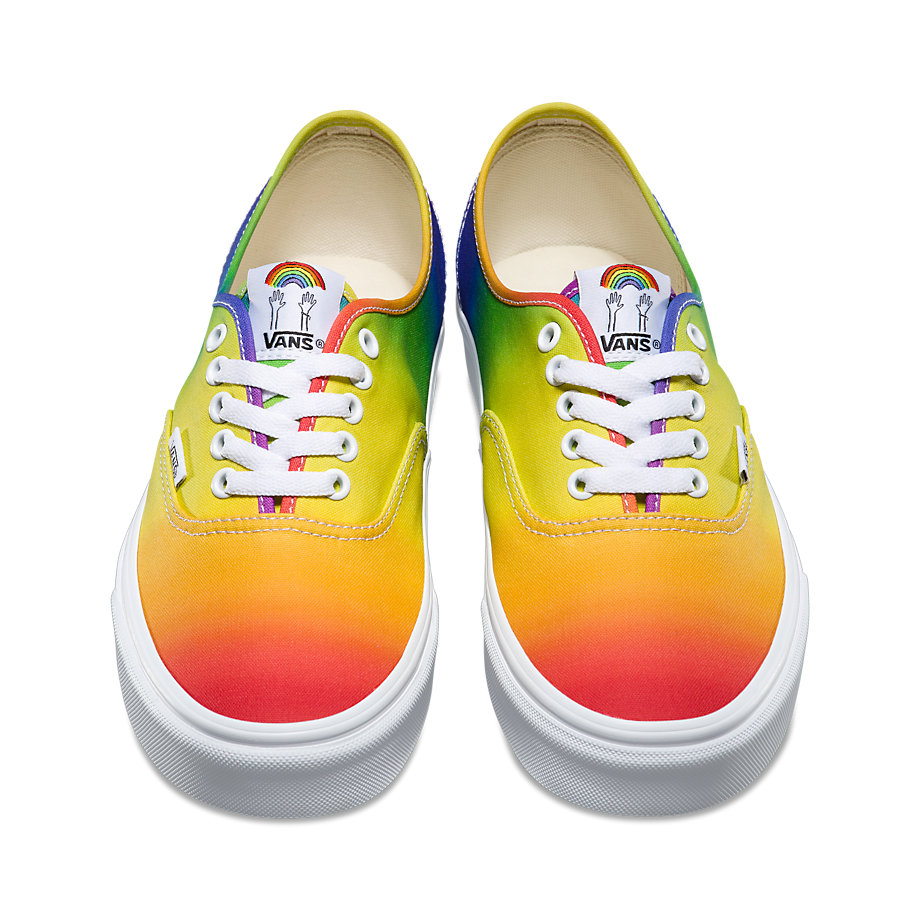 VANS Việt Nam - DALLAS CLAYTON AUTHENTIC RAINBOW TRUEWHITE VN0A38EMMOU