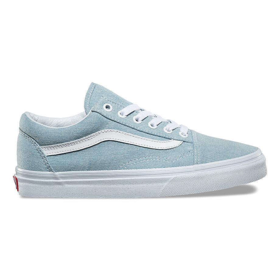VANS DENIM OLD SKOOL BABY BLUE