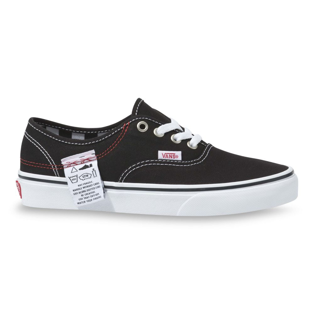 VANS DIY AUTHENTIC HC BLACK/TRUE WHITE